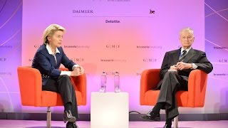 Brussels Forum 2015: Welcome & Conversation with Ursula von der Leyen and Zbigniew Brzezinski