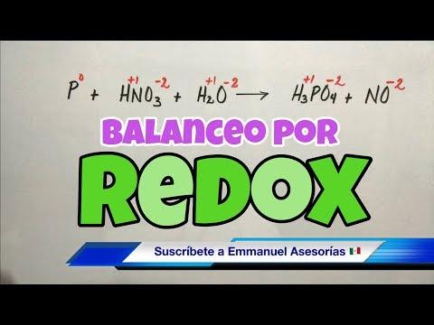 Balanceo por Método REDOX (paso a paso)