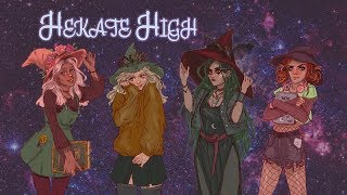Hekate High | A Witchy TTRPG