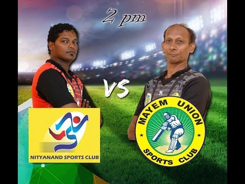 GENO PRUDENT T20 CUP |  NITYANANDA SPORTS CLUB VS MAYEM UNIO