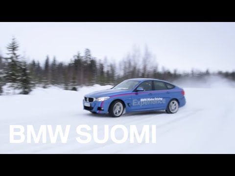 BMW Winter Driving Experience Finland 2015 - YouTube