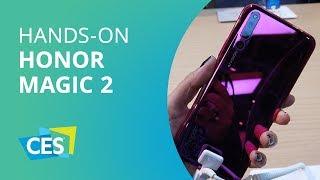 Honor Magic 2: sem notch, com sensor biométrico na tela e seis câmeras [CES 2019]