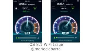 iOS 8.1 WiFi issue, fix underway