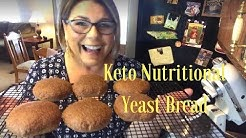 Live Event! Keto Nutritional Yeast Bread: The Best Keto Bread Ever !