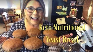 Keto Nutritional Yeast Bread: The best tasting bread you'll ever try!