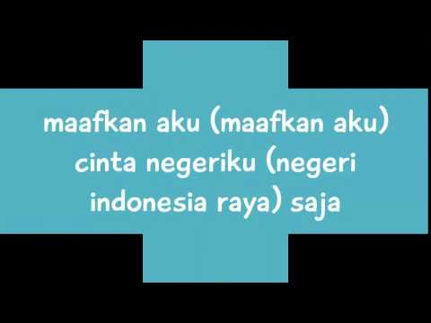 Judika - Aku Cinta Indonesia (Lyrics Video)