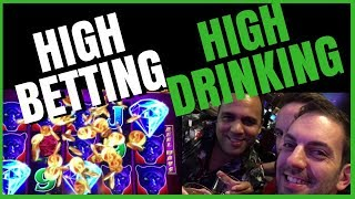 💰🍹 HIGH LIMIT Late Night #BRUNK in Vegas! ✦ It doesn