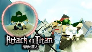 Testing an Upcoming Attack on Titan Game on Roblox!