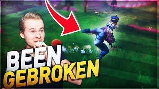 ÉTÉ GEBROKEN DANS FORTNITE DOOR GLITCH!! - Fortnite Battle Royale (Nederlands)