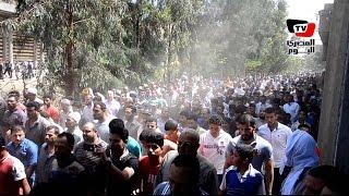 الآلاف يشيعون جثمان الشهيد«أحمد المتولي» في جنازة عسكرية بالدقهلية