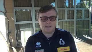 02-02-2020: #fipavpuglia - Pasquale D'Aniello in Puglia per il corso di aggiornamento allenatori