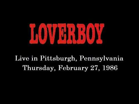 Loverboy Pittsburgh 2-27-86 Civic Arena