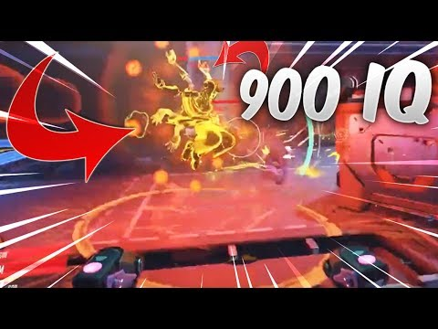 900 IQ CALCULATED EMP COUNTER TRANSCENDENCE!- OVERWATCH WTF FUNNY MOMENTS MONTAGE!