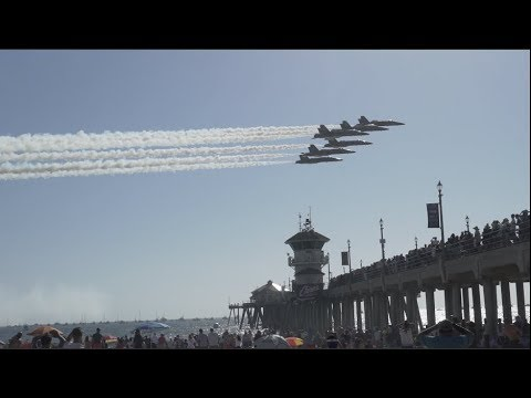 Huntington Beach Air Show | Raw Footage 2017 |