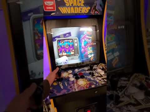 Arcade1up running Coinops Diamonds 2 from Retro Gamer