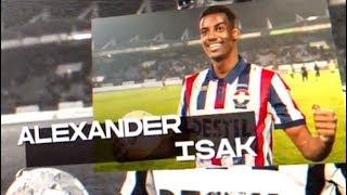 ACTIES, TRUCS EN GOALS | Het beste van Alexander Isak in de Eredivisie