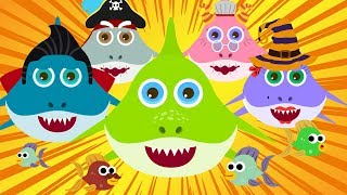 Faster Baby Shark Song Halloween Baby Shark Monsters Nursery Rhymes Songs for Kids
