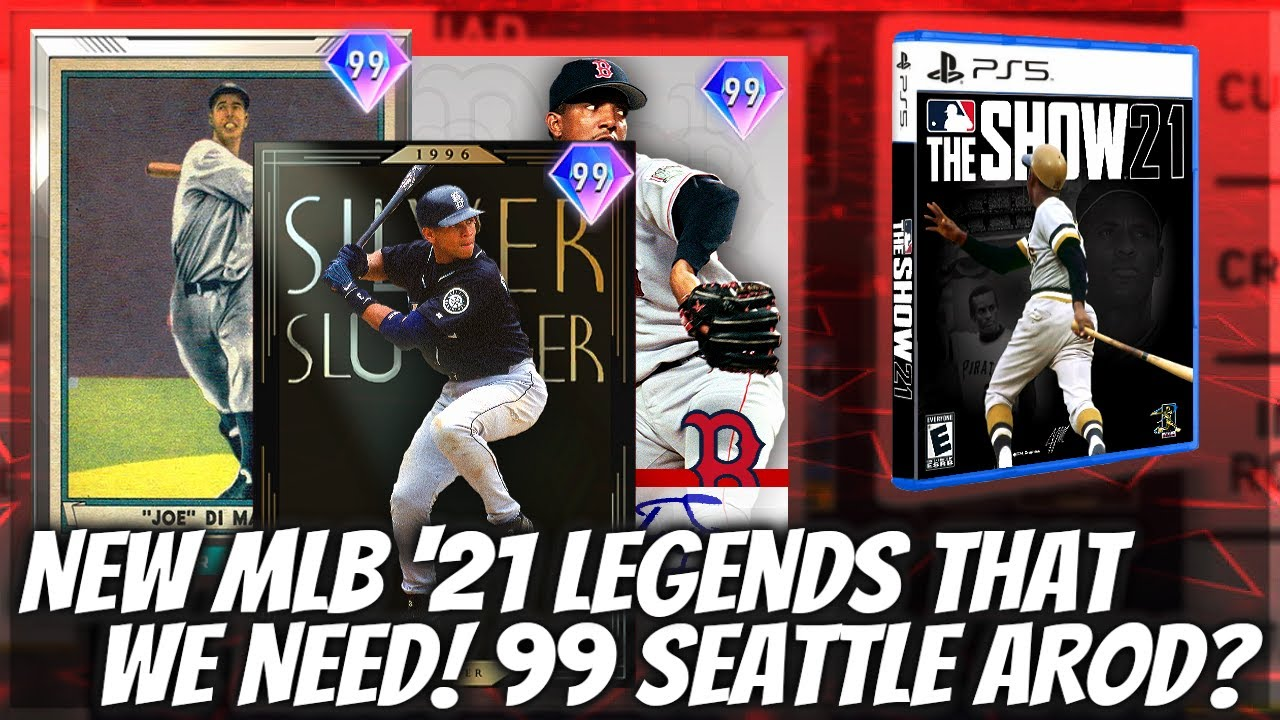 New Legends In MLB The Show 21 We NEED! 99 ARod & MORE Legends On MLB 21 Next Gen!