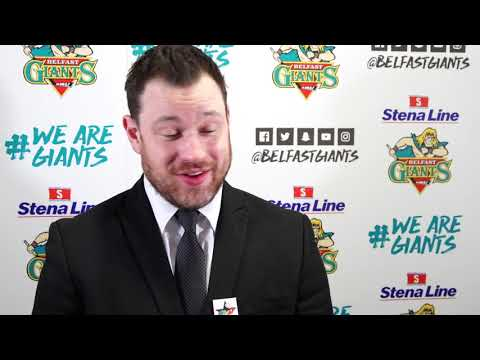 Coach Reaction: Belfast Giants 2-1 Cardiff Devils (23.02.2019)