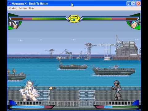 Megaman rush to battle - nightmare zero vs X