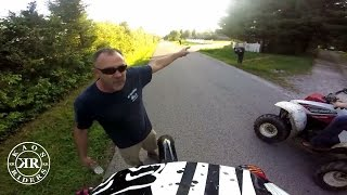 Angry People Yelling at Dirt Bike Riders | Road Rage 2016