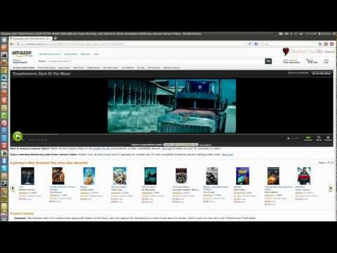Watch Amazon Prime instant videos on Ubuntu Linux (fix flash error)