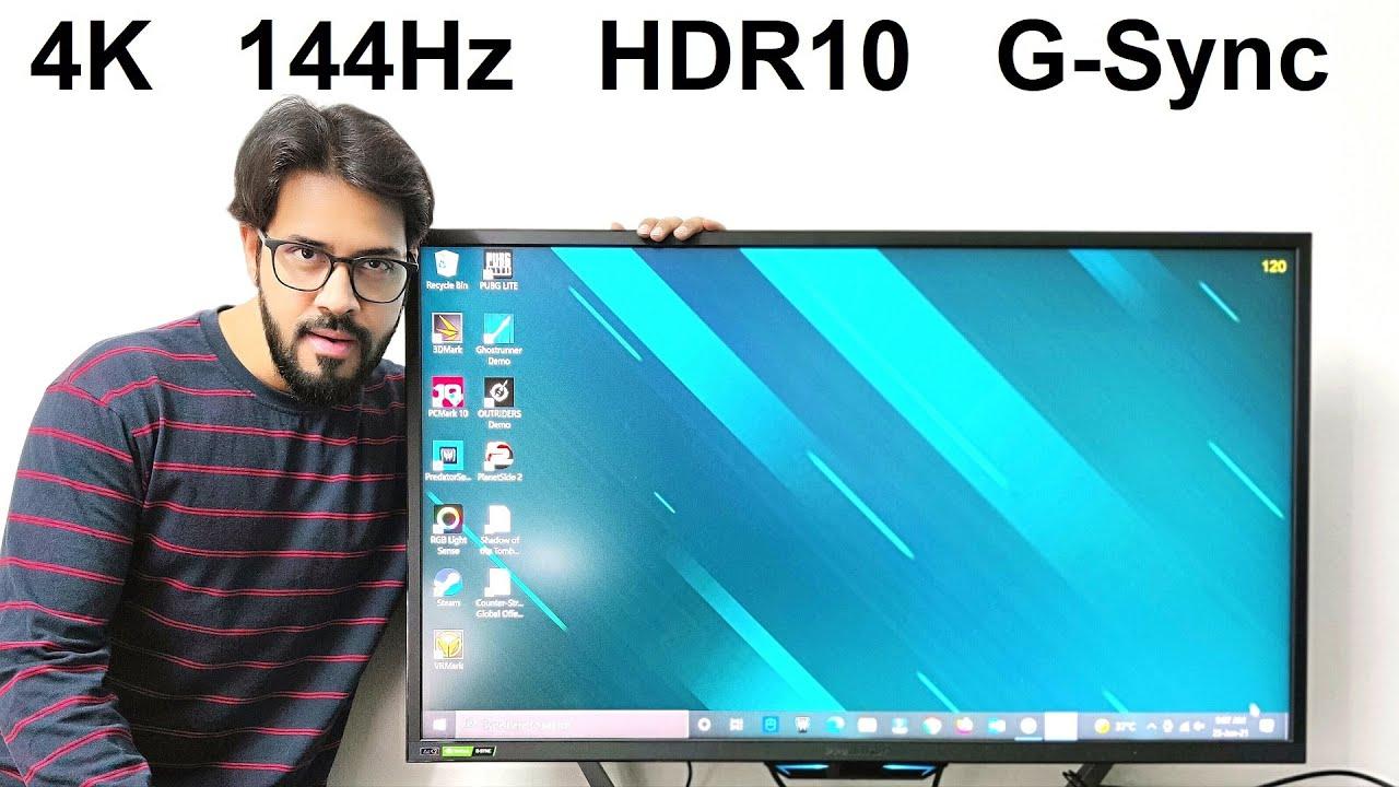 "Acer Predator CG437K 43"" 4K Gaming Monitor Review - 144Hz, HDR10, NVIDIA G-Sync"