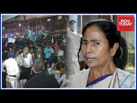TMC - BJP Clashes Erupts In Kolkata ; Mamata Cries Political Vendetta By BJP