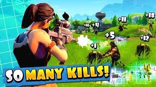 HOW TO GET SO MANY KILLS IN FORTNITE (HURRY IT CANNOT ME DONE SOON)