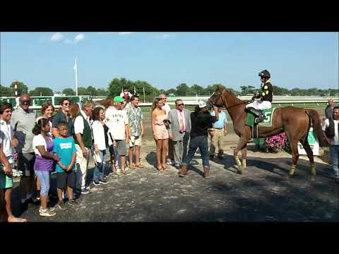 video thumbnail for MONMOUTH PARK 7-28-19 RACE 9