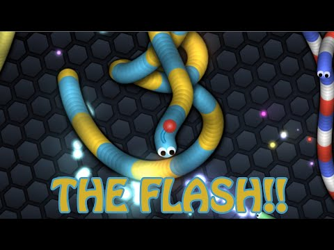 Get ไอแอม เดอะแฟลช! - Slither.io Pictures