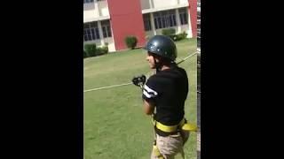 Stunt in DDPS Bijnor by Dev Rajput