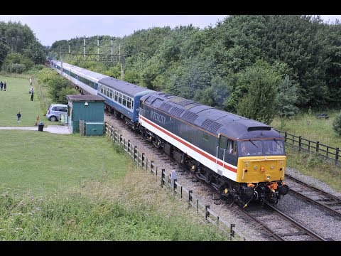 THE GREAT CENTRAL RAILWAY NOTTINGHAM DIESEL GALA 2017 - 1st July 2017