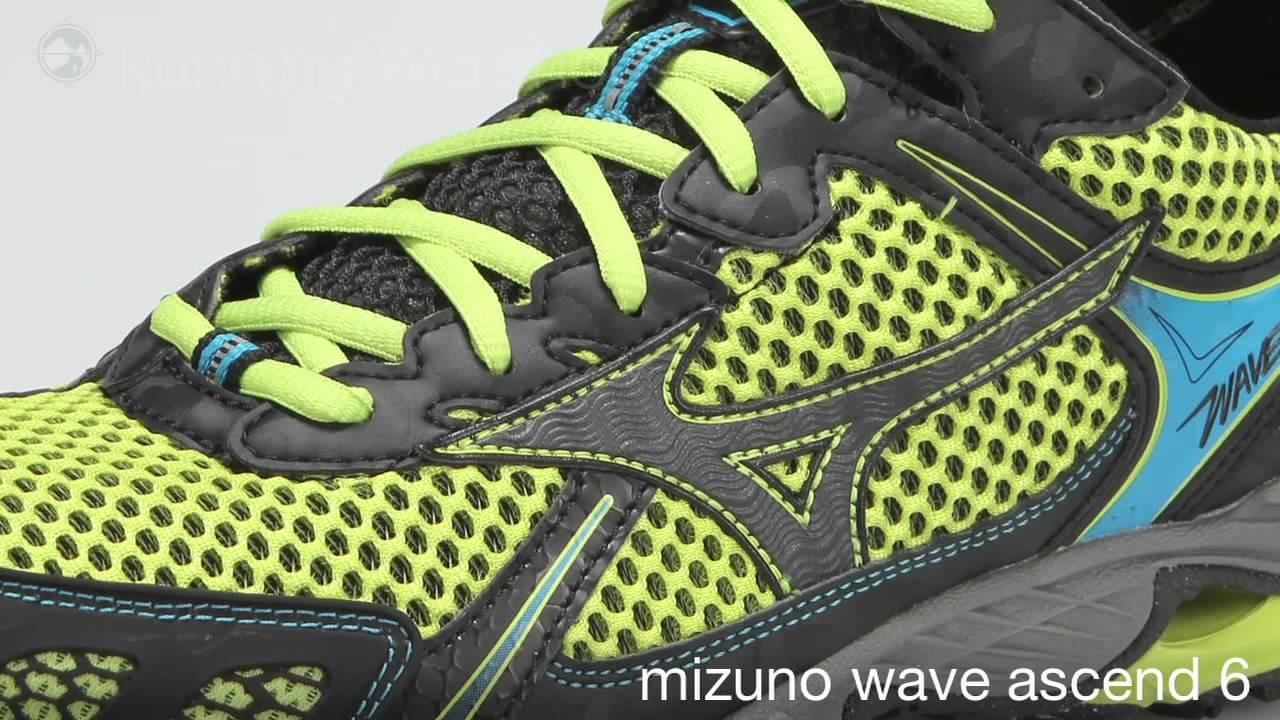 mizuno wave ascend 6 green