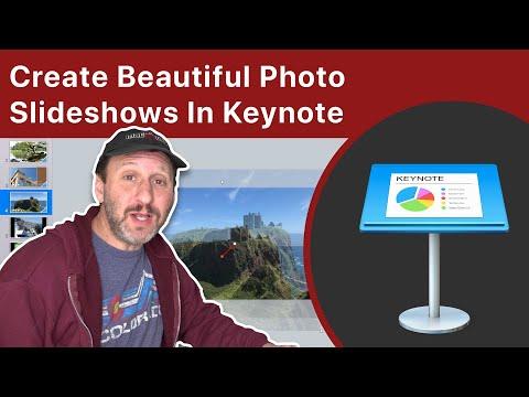 Create Beautiful Photo Slideshows In Keynote