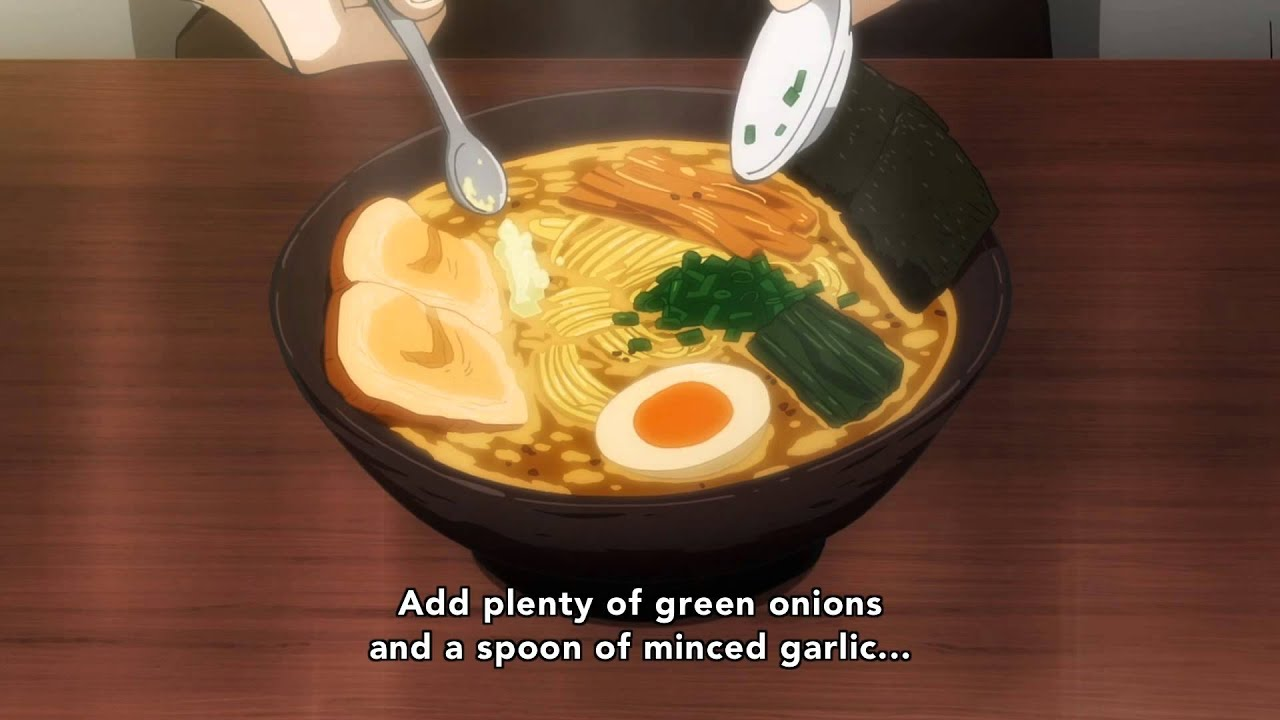 How to make ramen with a gun nemarus anime
