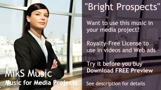 Positive Royalty Free Background Music for Corporate Video or Broadcast