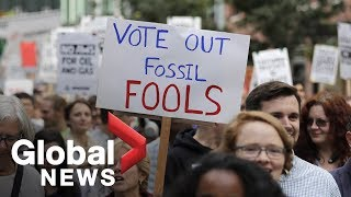 Student protesters worldwide skip class, hit the streets for Global Climate Strike