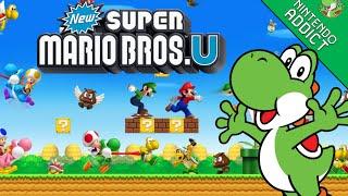 New Super Mario Bros. U - Live 100% Playthrough - World 1-5 (2016-07-04)