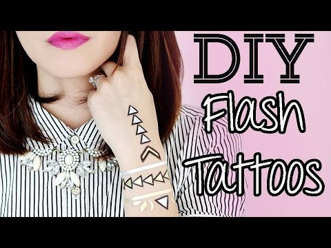 ➳DIY: Flash Tattoos