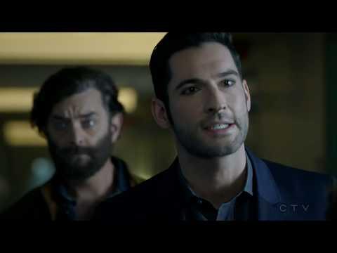 Lucifer 2x16 Operation Help God Johnson  Escape Mental Hospital Season 2 Episode 16
