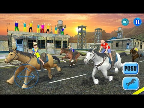 Kids Street Horse Racing 2017 (by Gamy Interactive) Android Gameplay [HD]
