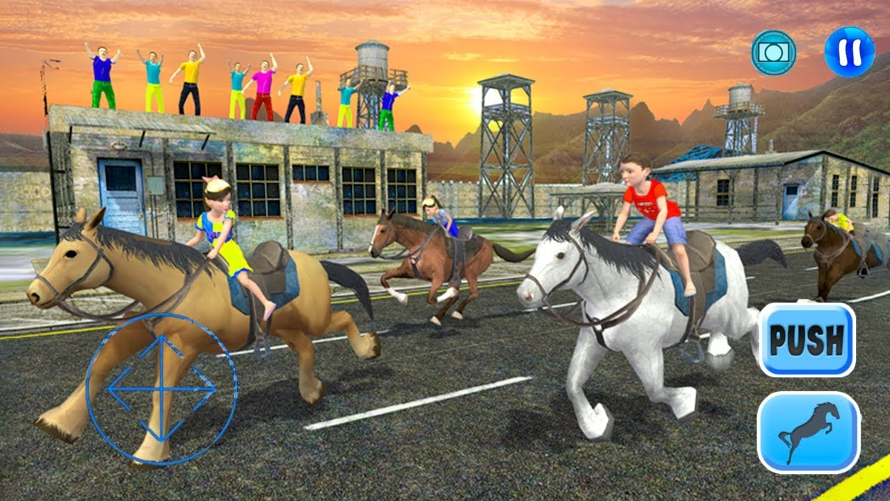 Kids Street Horse Racing 2017 By Gamy Interactive Android Gameplay Hd Youtube