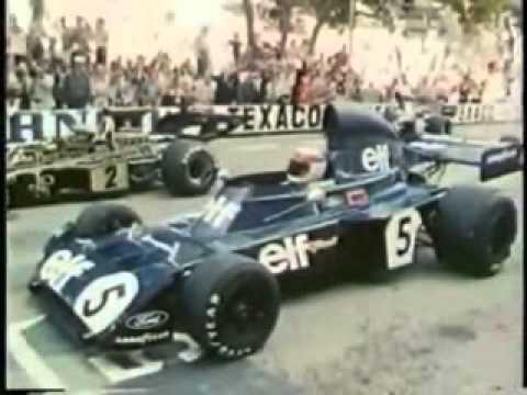 1973 F1 MONACO GP  ~TYRRELL 006~Jackie  Stewart
