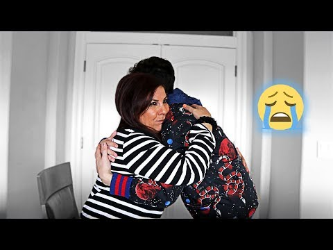 TELLING MY MOM I'M MOVING OUT... *she cried*