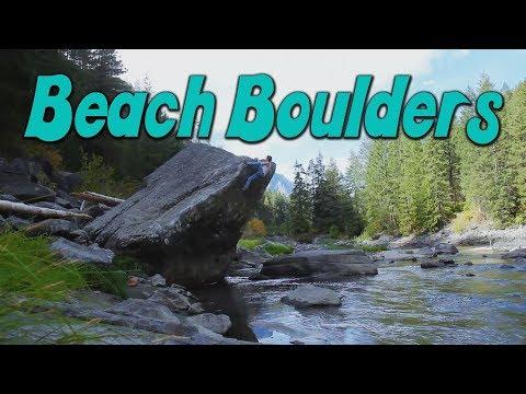 Beach Boulders v1v4  Leavenworth, WA