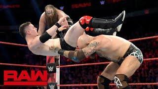 The Viking Raiders vs. Colin & Devin Justin: Raw, July 8, 2019