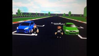 Ford Focus RS vs Bmw M5 (ROBLOX)