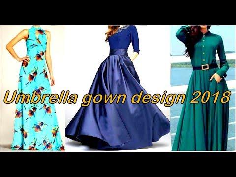 Umbrella Gown Design 2018    अम्ब्रेला गाउन डिज़ाइन