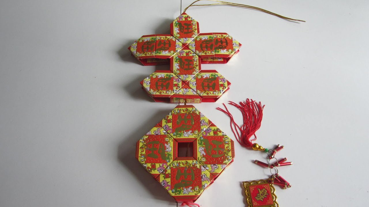 Cny tutorial no 30 red packet hongbao chinese for Ang pao decoration